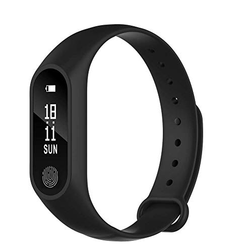 Teconica M19 Fitness Wrist Band with Heart Rate Sensor/Pedometer/Sleep & Monitoring Functions Compatible with All Android,iOS & Windows Device (Assorted Colour)