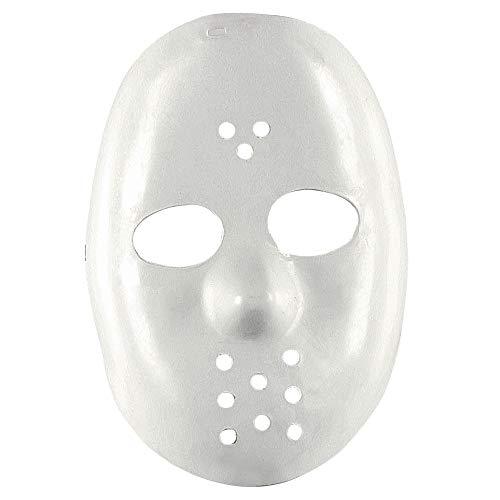 (Widmann 4698B Hockeymaske, Weiß, One Size)
