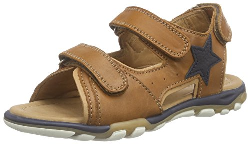 Bisgaard Sandals, Sandales ouvertes mixte enfant Braun (66 Cognac)