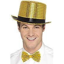 ... Sombrero negro   alto 17cm. Smiffys Chistera con Lentejuelas 54fe87517c8