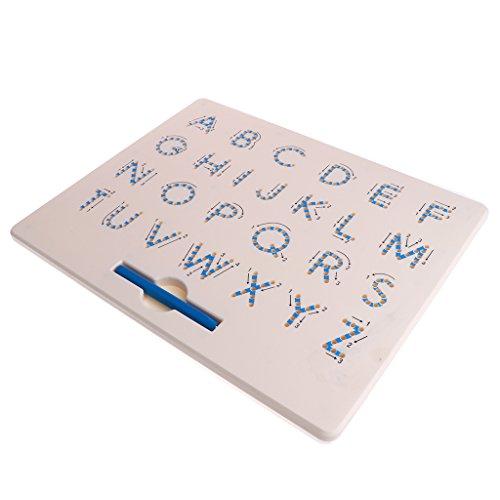 Homyl Alphabet Magnet Tafel, Magnetische Englische ABC Alphabet Lernspielzeug für Kinder