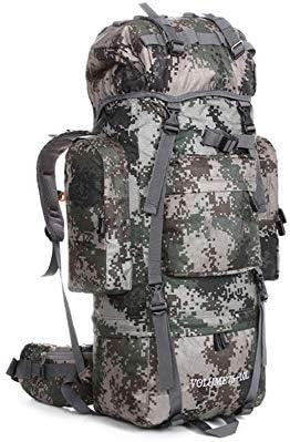 f74f671647 0 & 8451; Outdoor Multifunzionali Esterni di Alpinismo Zaini Sacchetto  Sacchetto Sacchetto Impermeabile 80L Camouflage Zaini - Zaino Trekking  Grande tattico ...