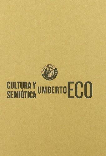 Cultura Y Semiotica por Umberto Eco