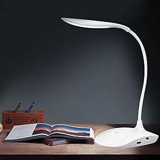 Rechargeable LED Sensor Desk Lamp,GEZICHTA USB Rechargeable Sensor Cordless LED Desk Table Reading Lamp Light (white)