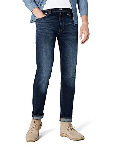 Levi's Herren Tapered Tapered Fit Jeans 502 Regular Taper, Blau (City Park 11), W32/L32 - Sportliche Denim Jeans