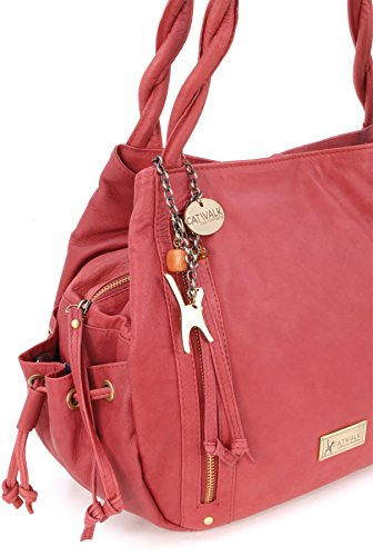 Borsa tote in pelle di Catwalk Collection