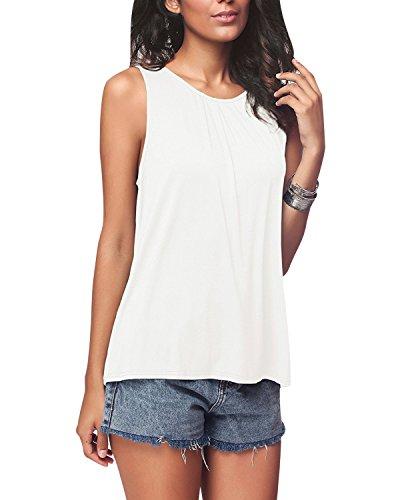 Camisetas Tirantes Mujer Camiseta Sin Mangas Señora Anchas Verano Top  Oversize Chicas Playeras Camisas Blusas Chaleco 632f46c700ca3