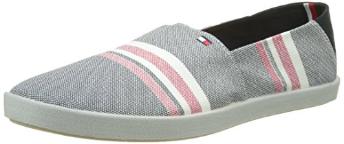 Tommy Hilfiger G2285ranada 2d_2, Espadrilles Homme Multicolore (Midnight)
