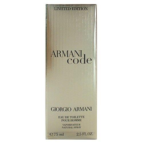 Giorgio Armani Code Pour Homme Eau de Toilette Limited Edition (1 x 75 ml) (75ml)