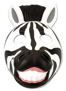 Wild Republic- Grinimals Máscara Careta de Cebra, Color negro/blanco (14277)
