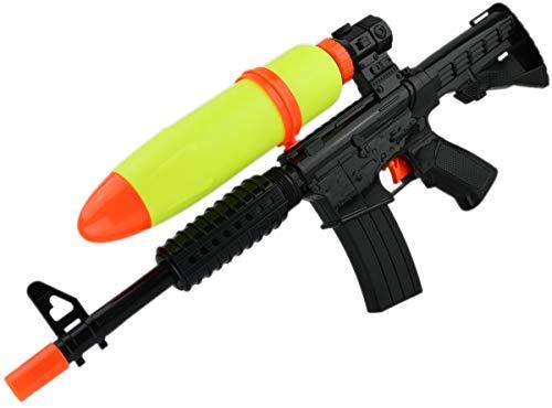 GYD Doppelpack XXXL Wassergewehr Armee BW Shooter Wasser-Gewehr Pistole 50cm Spritz-Waffe schwarz rot Water-Blaster Galaxie-Waffe Schlacht Kinder- Wasser-Spritze Sommer Spielzeug-Pistole (Waffen Wasser Spritzen)