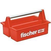 Pêcheurs Boîte à outils en plastique rouge