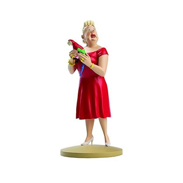 Moulinsart Figura de colección Tintín Castafiore papagayo 13cm 42185 (2014) 1