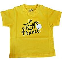 Le Tour de France Camiseta para bebé, colección oficial del Tour de Francia, color amarillo, tamaño 3 meses