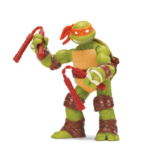 Teenage Mutant Ninja Turtles 14090503 - Michelangelo Basis Figur - Ninja Michelangelo Turtle