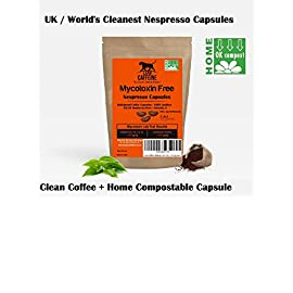 Bulletproof Nespresso Capsules / Coffee Capsules (40)   Mycotoxin Free Coffee   Biodegradable Nesspresso Coffee Capsules…