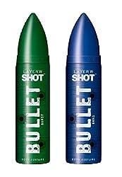 Layerr Shot Bullet Bang & Burst Deodorant For Men - Set Of 2