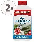 Gardopia 2 x 1 Liter Mellerud Algen und Grünbelag Entferner