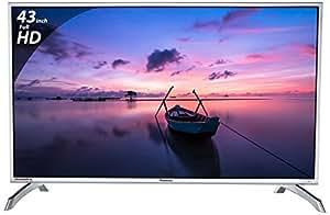 Panasonic 108 cm (43 inches) Viera Shinobi , super bright TH-43E460D Full HD LED TV