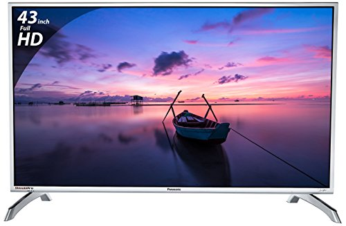 Panasonic 108 cm (43 inches) Viera Shinobi , super bright TH-43E460D Full HD LED TV