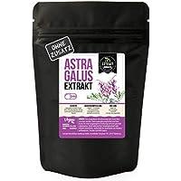 Preisvergleich für Astragalus EXTRAKT • 240 KAPSELN • 4000mg normales Tragant Pulver durch 10:1 Extrakt • vegan • ohne Zusätze Füll...
