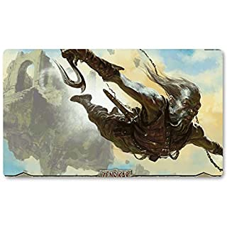 Playmats - KOR Aeronaut - Board Game MTG Playmat Table Mat Games Size 60X35 cm Mousepad Play Mat for Yugioh Pokemon Magic The Gathering