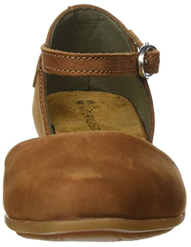 Inyectados Y Vulcanizados S.A Damen Nd54 Pleasant Stella Mary Jane Flats Braun (Wood)