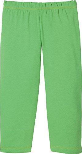 Kinderbutt Capri-Leggings Single-Jersey grün Größe 98 / 104 (Mädchen Leggings Jersey)