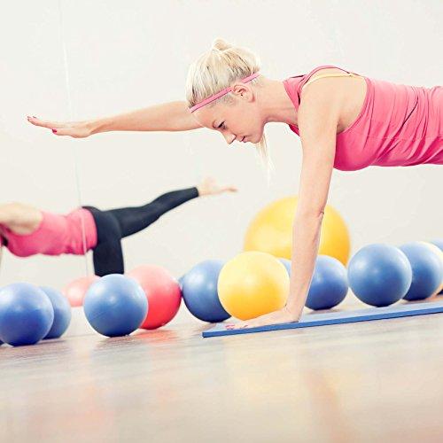 Mini Pilates Ball »Balle« 18cm / 23cm / 28cm / 33cm Gymnastikball für Beckenübungen, Stärkung der Bauchmuskulatur und partielle Massage. grün / 23cm - 4