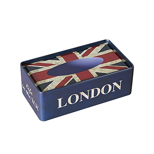 Retro Classic analoge Tissue Box Dekorative Tissue Cover Halter (Strand Box Tissue Cover)
