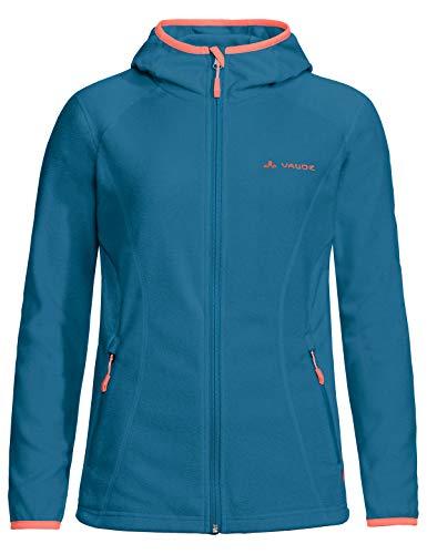 Vaude Damen Women\'s Sunbury Hoody Jacket, leichte Fleecejacke Jacke, Kingfisher, 46