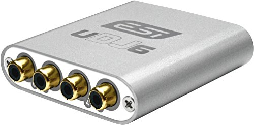 ESI UDJ6 USB Audio Interface (24 Bit/96 kHz, 4 Out)
