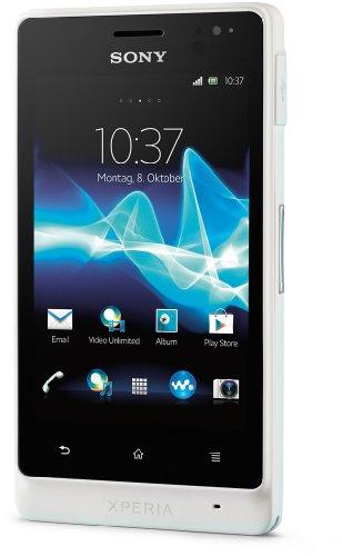 Sony Xperia Go - M  vil libre  pantalla t  ctil de 3 5   c  mara 5 Mp  8 GB de capacidad  color blanco