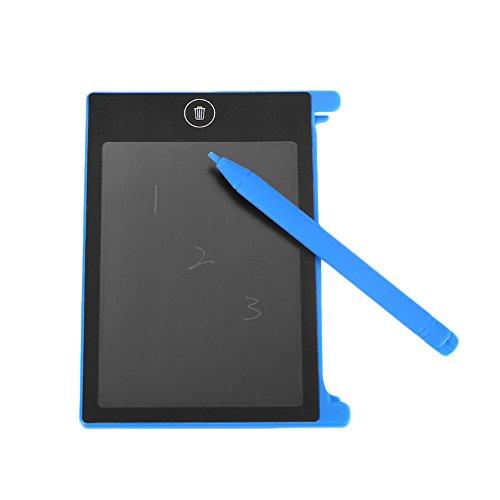 Tiptiper LCD Schreiben Tablet 4,4 zoll, LCD Reißbrett Lernen Tools Familie Hinweis Stylus Pad für Kinder, Büroangestellte
