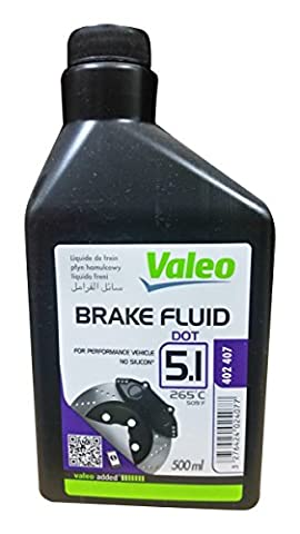 Liquide de freins 500 ML DOT5.1 Valéo