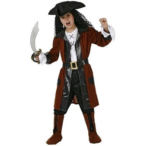Atosa - Disfraz de pirata para niño, talla 5 - 6 años (98585)