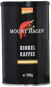 Mount Hagen Dinkelkaffee (100% Dinkel) demeter, 4er Pack (4 x 100 g)
