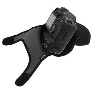 Fotodiox Neoprene Zoom Camera Cover Sleeve/Travel Case for Nikon D70, D70s, D100, D200, D300, D300s, D700 w/ Battery Grip