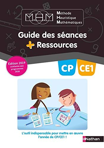 Methode Heuristique de Maths Pinel - Guide Pedagogique CP/CE1 - 2019