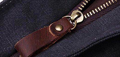 FZHLY Portemonnaie Mit Hoher Kapazität Cross-Schulter Messenger Bag Camel