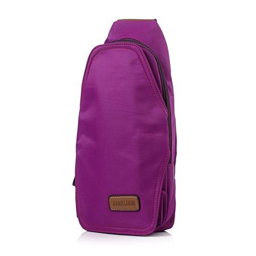 pacco petto di Miss Xia Jinan/Messenger Bag/Macaron Confezione/zaino obliquo/borsa sportiva-D C