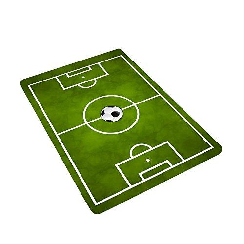 JYCRA Alfombra de Campo de fútbol para niños