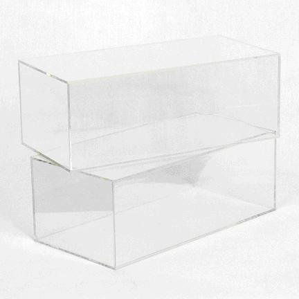 MULTI-PURPOSE COLLECTABLES DISPLAY CASE WITH MIRROR BACK Multi Purpose Display