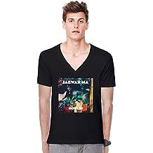 Jagwar Ma Howlin Album Deep V-neck T-shirt