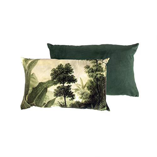 Home Society Urban Jungle Kissen 'Bali' Zierkissen 50x33cm Deko Sofa Wohndeko Textilien - Bali Sofa