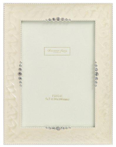 addison-ross-wedding-photo-frame-5x7-startburst-cream-enamel-5-x-7-inches