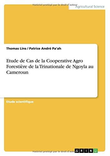 Epub Gratuit Etude De Cas De La Cooperative Agro Forestiere De La