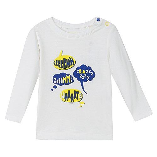 Esprit Kids Baby-Jungen T-Shirt RI1001C, Weiß (Weiß 110), 68