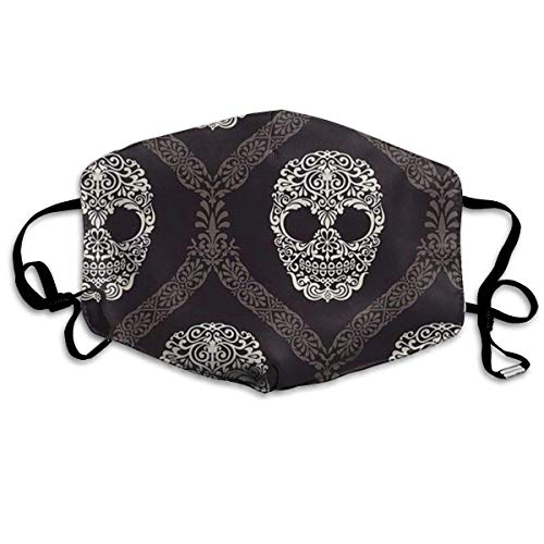 Desing shop Skeleton Mask Can Be Washed Reusable Mask One Size Multiple Colors -