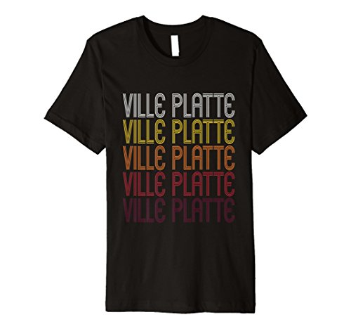 Preisvergleich Produktbild Ville Platte,  La / Vintage Stil Louisiana T-Shirt
